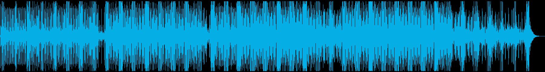 ゆったりと漂う、神秘的で美しいテクノの再生済みの波形