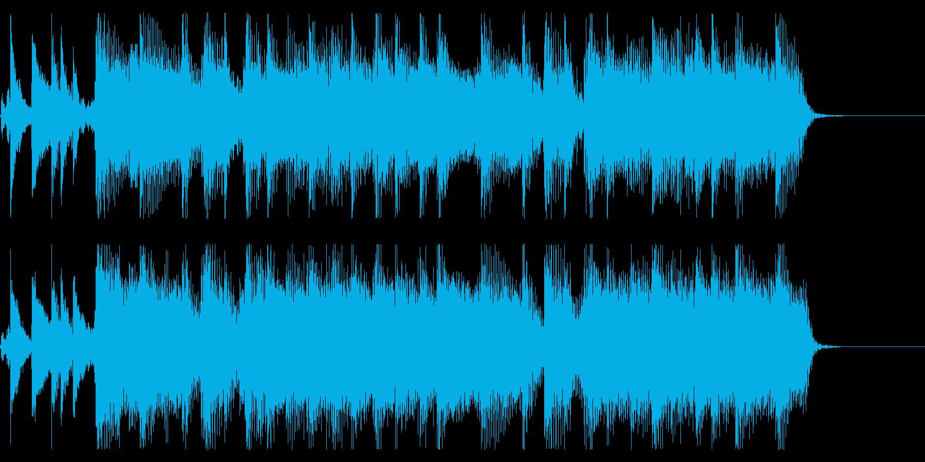 【気分一新2】の再生済みの波形