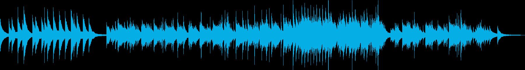 ピアノBGM 切ない映画のエンドロール の再生済みの波形