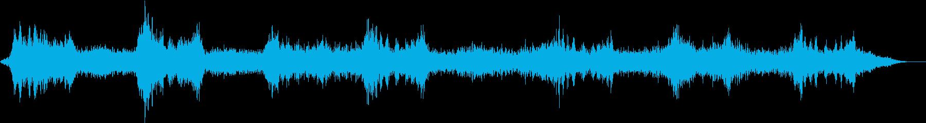機械的なフィルターシフトを備えたロ...の再生済みの波形