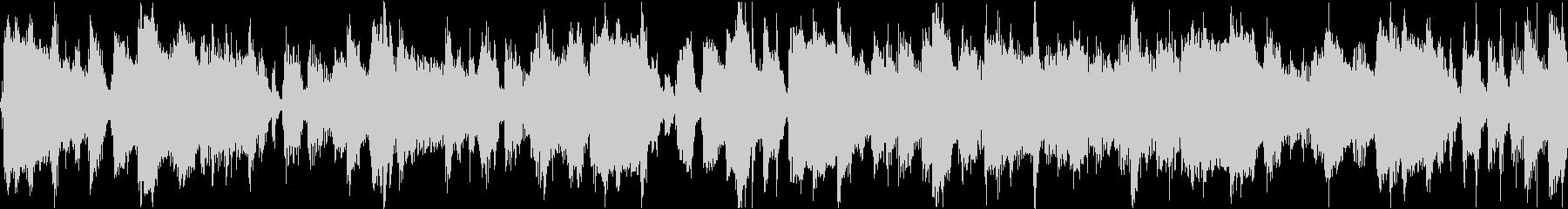 伝統的なハッピーバースデートゥユー...の未再生の波形