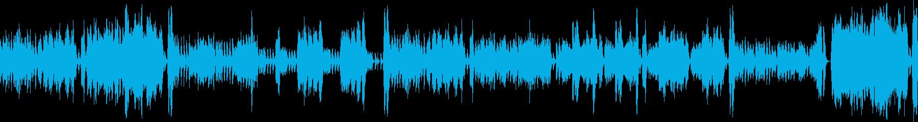 オーケストラ・コミカルな場面・ループ仕様の再生済みの波形