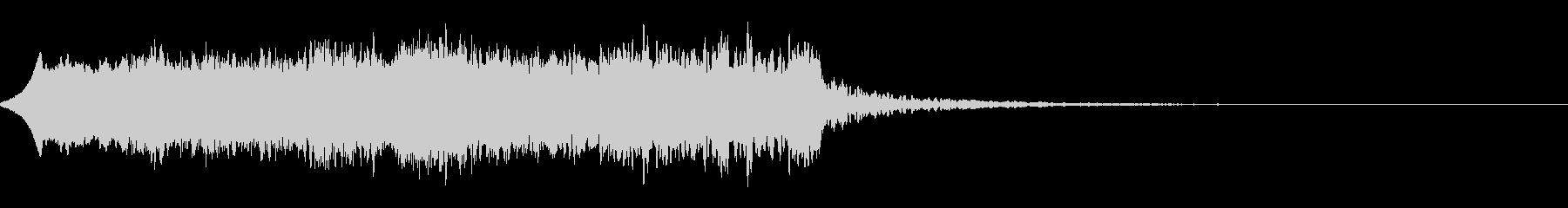 唐突で怖い効果音の未再生の波形