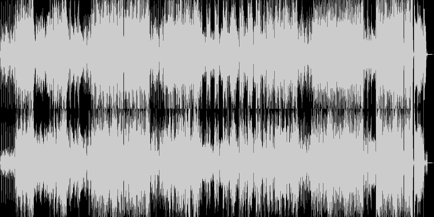 手品・マジックに適したジャズポップの未再生の波形