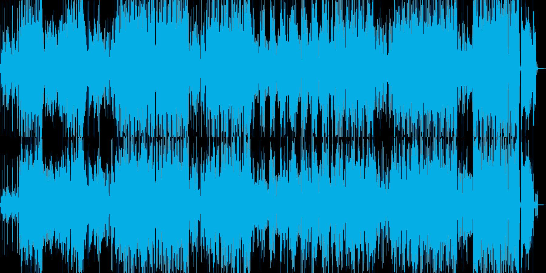 手品・マジックに適したジャズポップの再生済みの波形