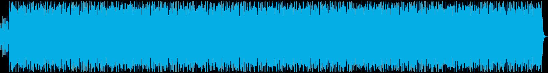 爽やか、ピアノ、企業VPの再生済みの波形