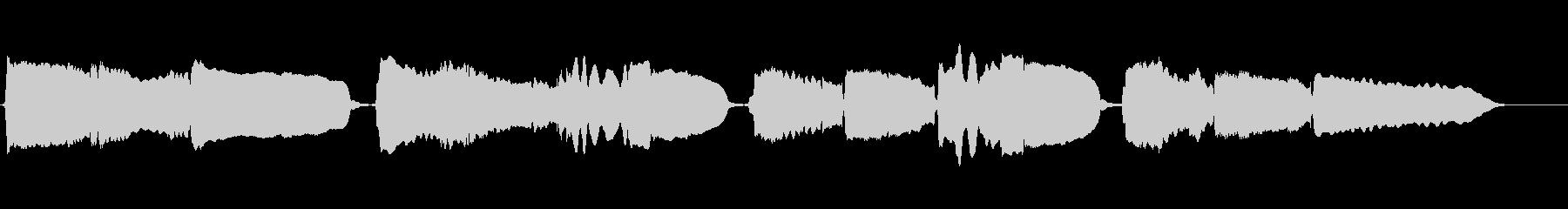 心奪われるサックスの重奏です。の未再生の波形