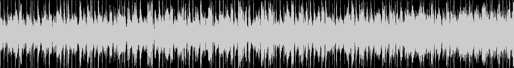 スラップベースが特徴的なロックの未再生の波形
