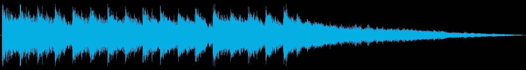 15秒・コーポレートジングル・WEB広告の再生済みの波形