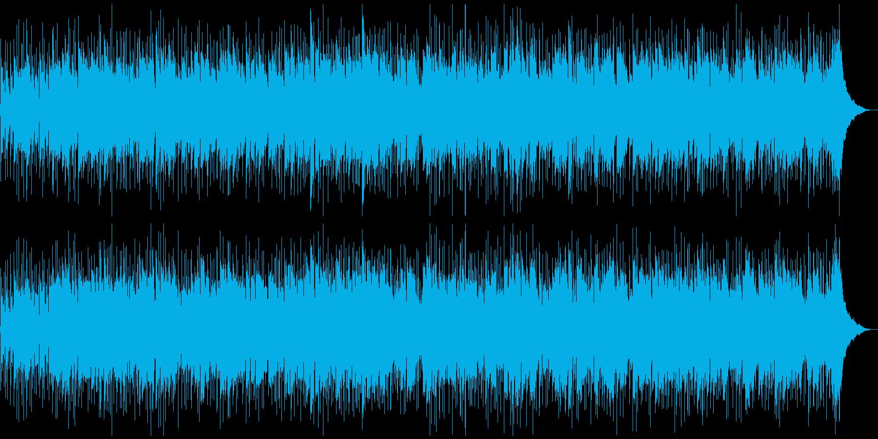 ギターソロがせつないロックバラードの再生済みの波形