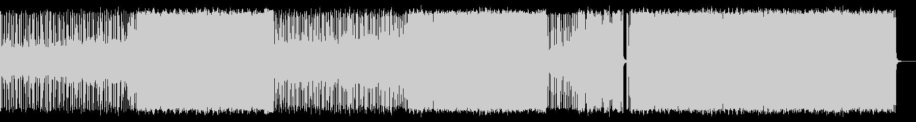 リードシンセによるロックンロールの未再生の波形