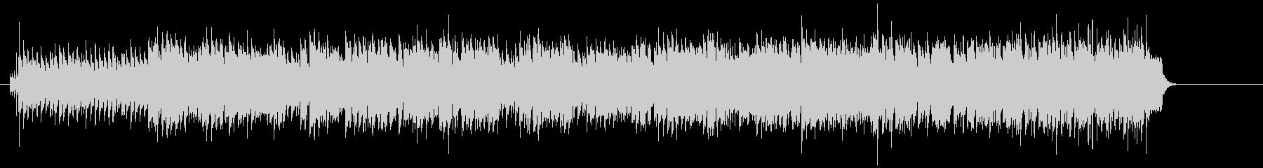 4ビートのリズムが効いた粋なR&Rの未再生の波形