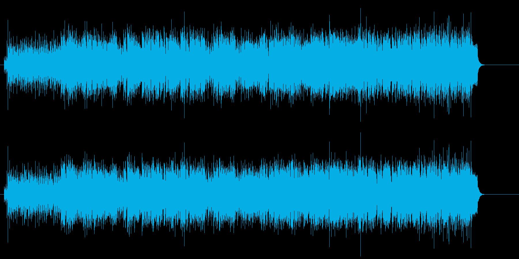 4ビートのリズムが効いた粋なR&Rの再生済みの波形