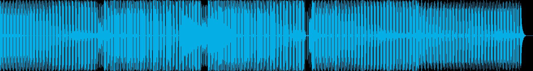 最小限の再生済みの波形