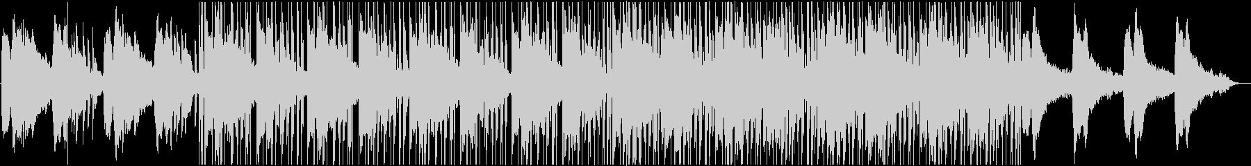おしゃれなギターのヒップホップ風BGMの未再生の波形