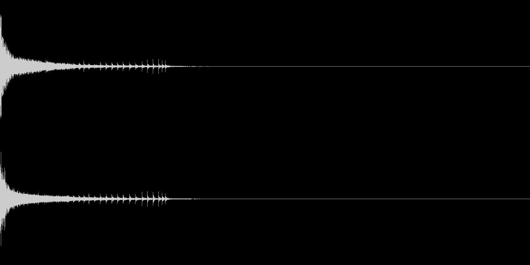 オチ、ピューン、ボケ、ダメージ、コミカルの未再生の波形