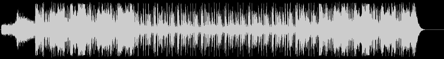 インパクトのある盛大なBGMの未再生の波形