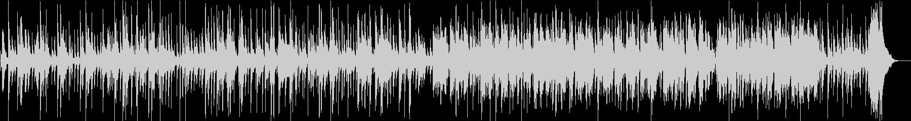 深夜に聴きたいシンプルなスロージャズの未再生の波形