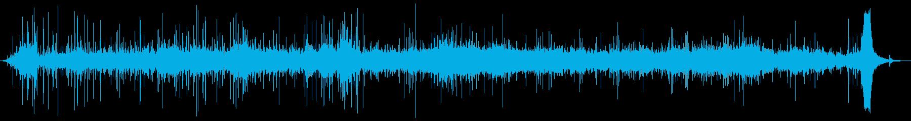 ピールテープ、ロングコミックフリク...の再生済みの波形