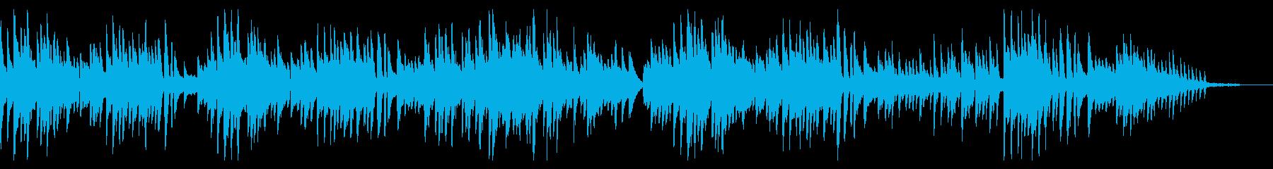 卒業式っぽいピアノソロ曲の再生済みの波形