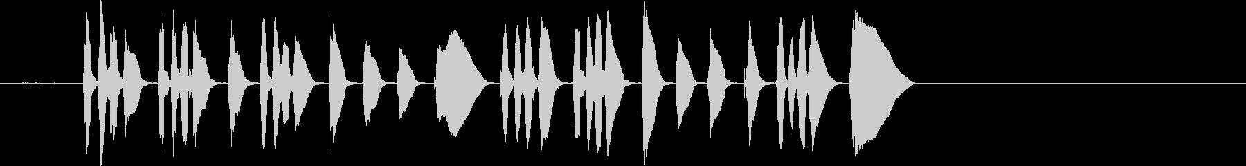ビューグルは、最初の呼び出しΓÇÖ...の未再生の波形
