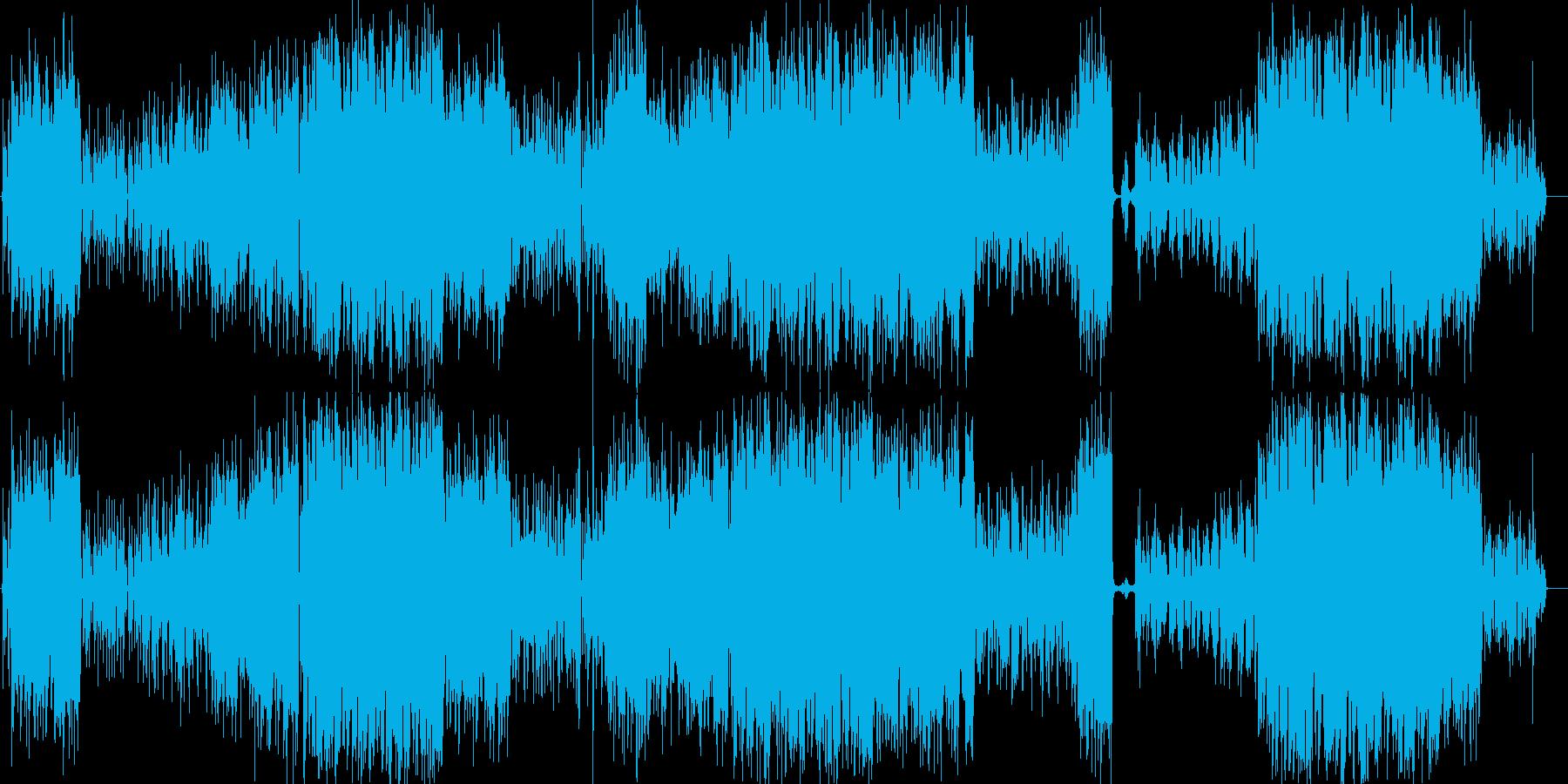 花火師の青年 ひと夏の物語ソングの再生済みの波形