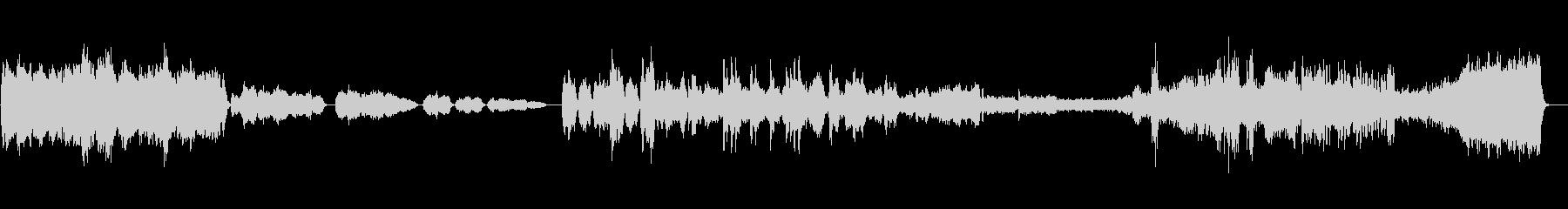 【CMで聴くクラシック】弦楽セレナーデの未再生の波形