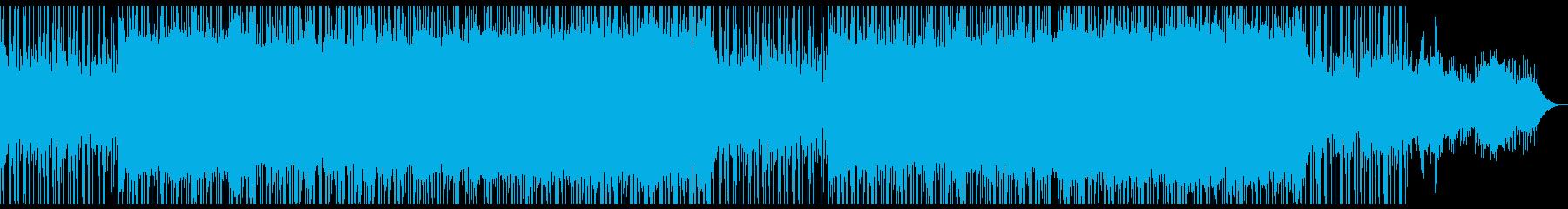 ほんのり和風なラウンジミュージック。の再生済みの波形
