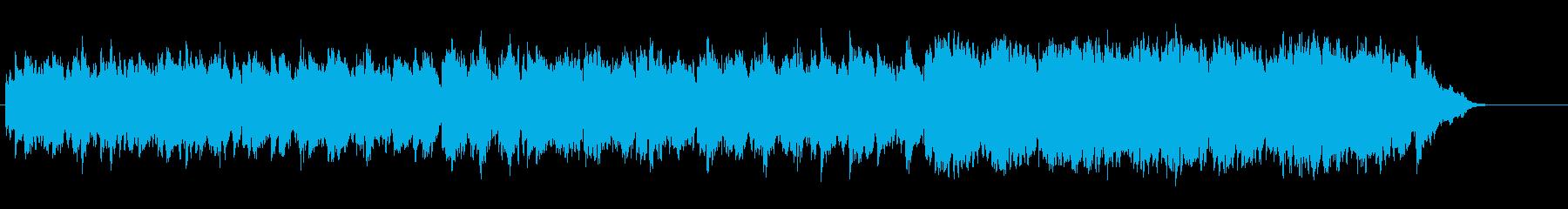 ソフトでひそやかなロマンチック・バラードの再生済みの波形