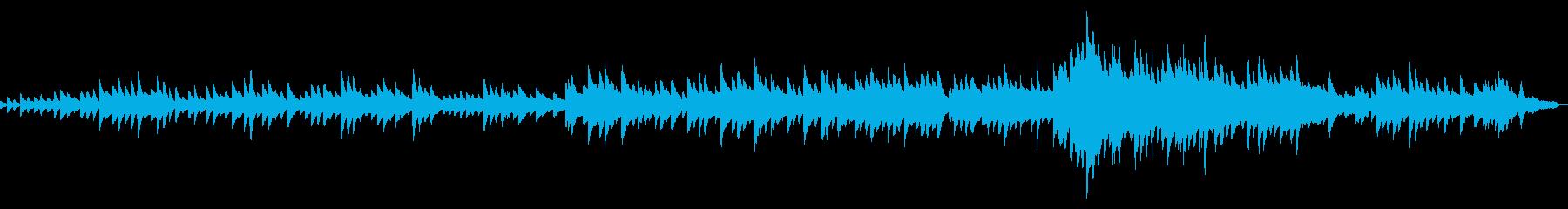 優しくせつないイメージのピアノソロの再生済みの波形