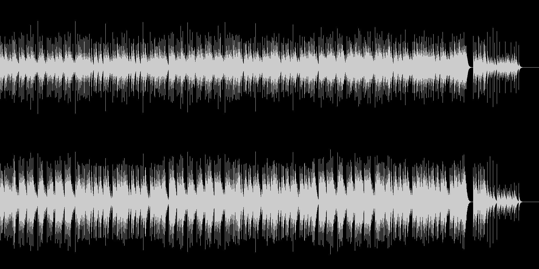 【オルゴール】ジングルベル/クリスマスの未再生の波形