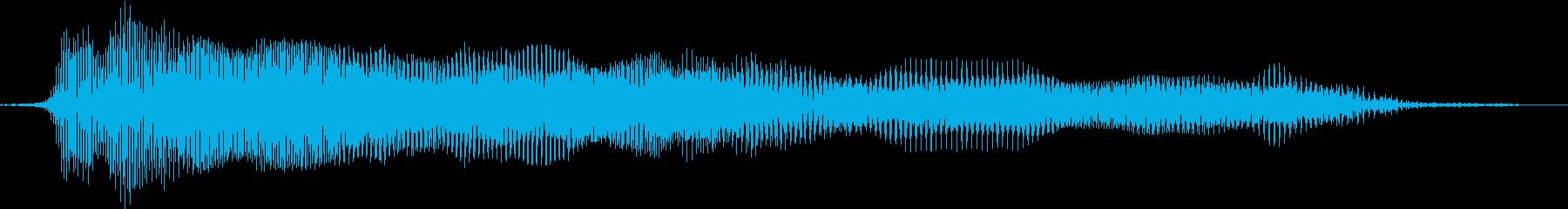 押すと音のなるおもちゃ 04の再生済みの波形