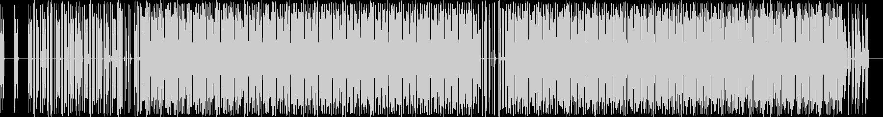 電子。噴水アルペジオ音符。の未再生の波形
