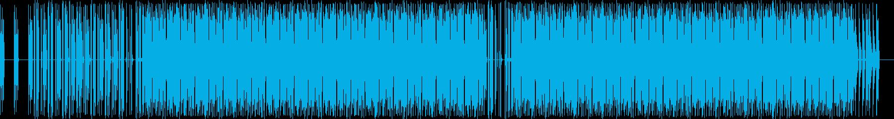 電子。噴水アルペジオ音符。の再生済みの波形