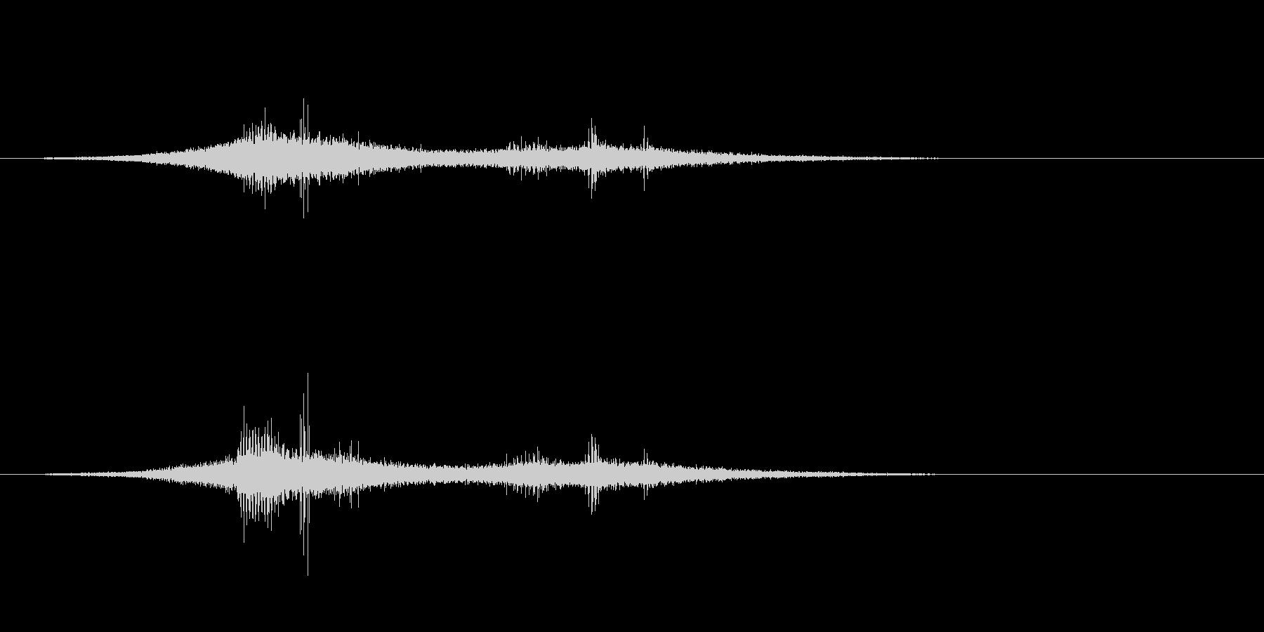 フライングフィメールゴースト2-ホ...の未再生の波形