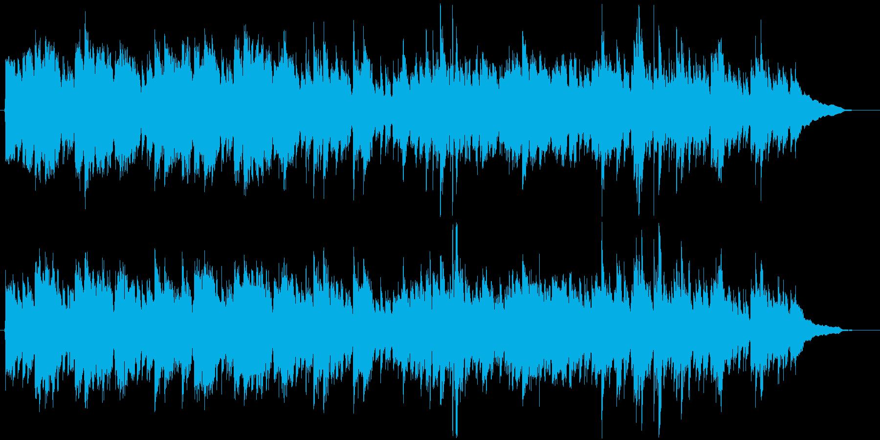 船越英○郎サスペンス風の再生済みの波形