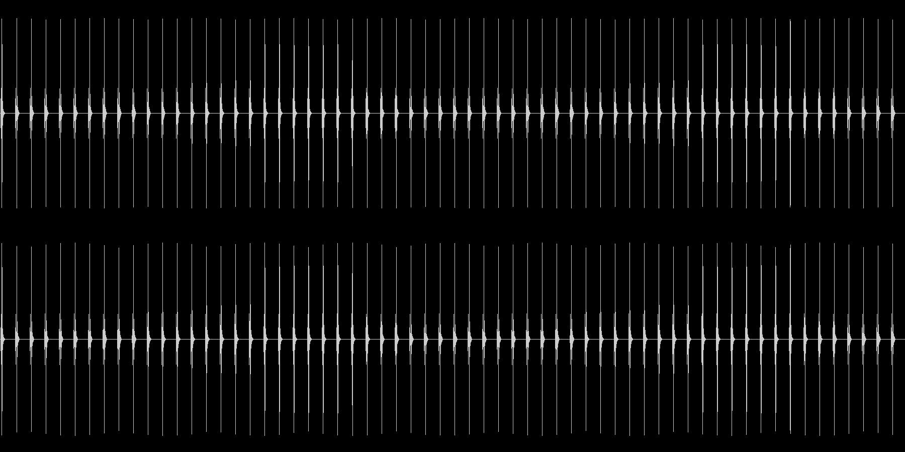 古時計 2の未再生の波形