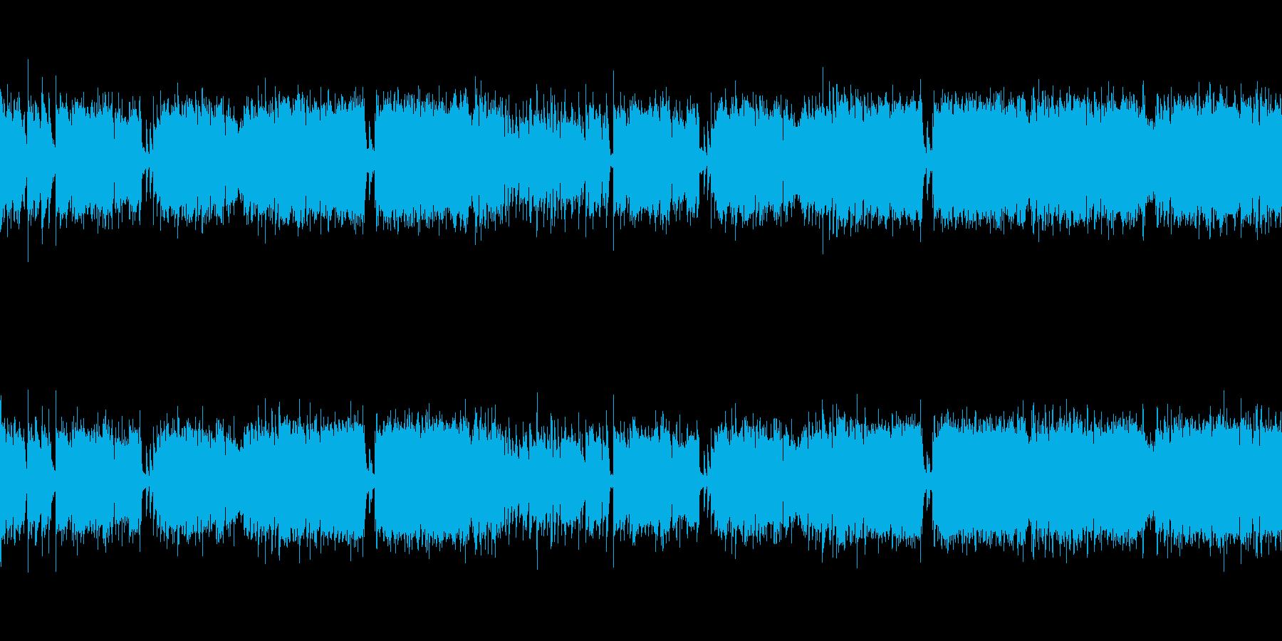 明るいポップ!生演奏クラリネット!の再生済みの波形