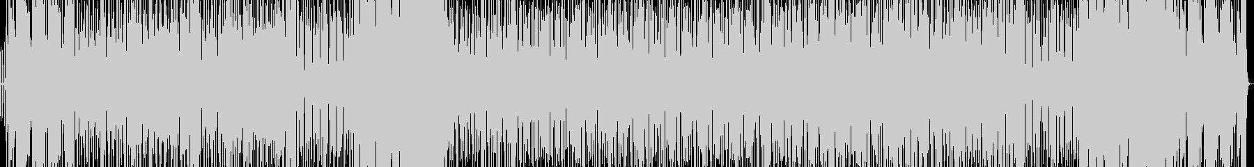 生サックス 緩く楽しい1コードファンクの未再生の波形