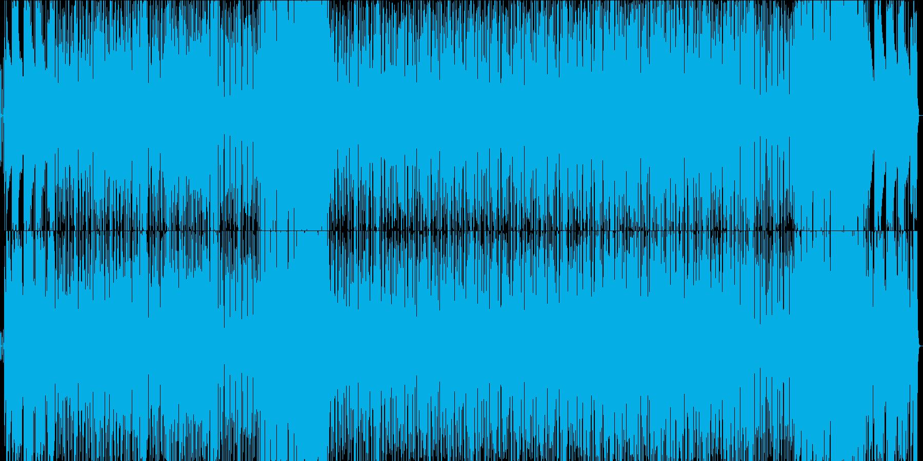 生サックス 緩く楽しい1コードファンクの再生済みの波形