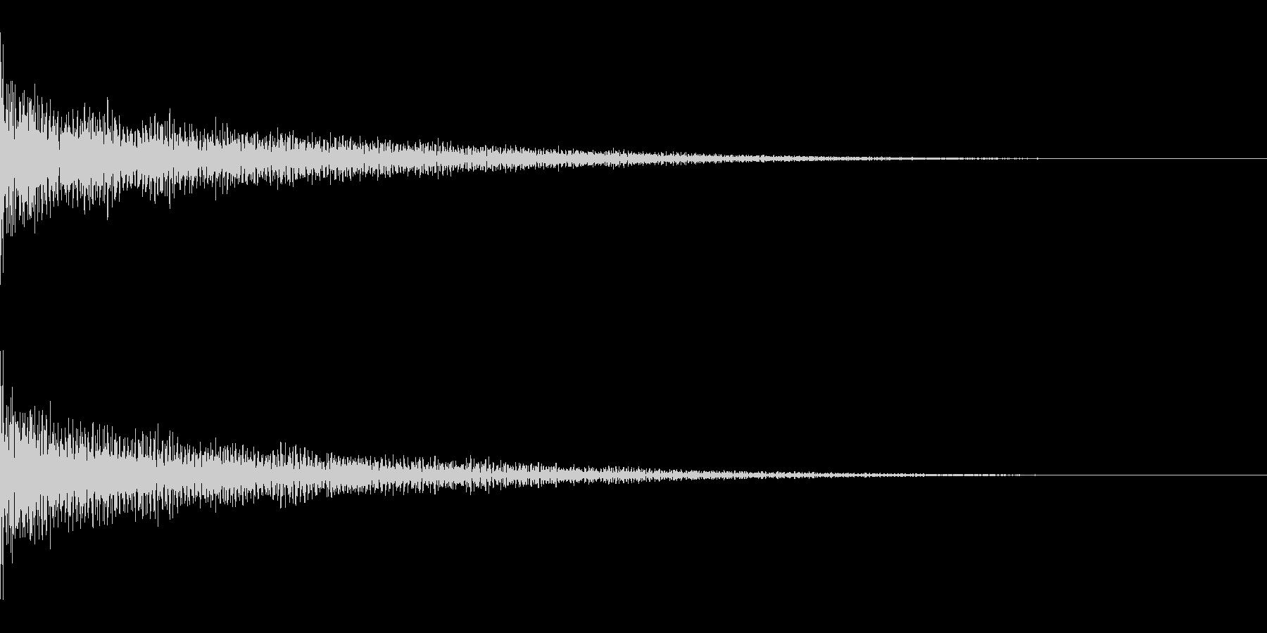ゴーン(ショック/落ち込み/コミカル)の未再生の波形