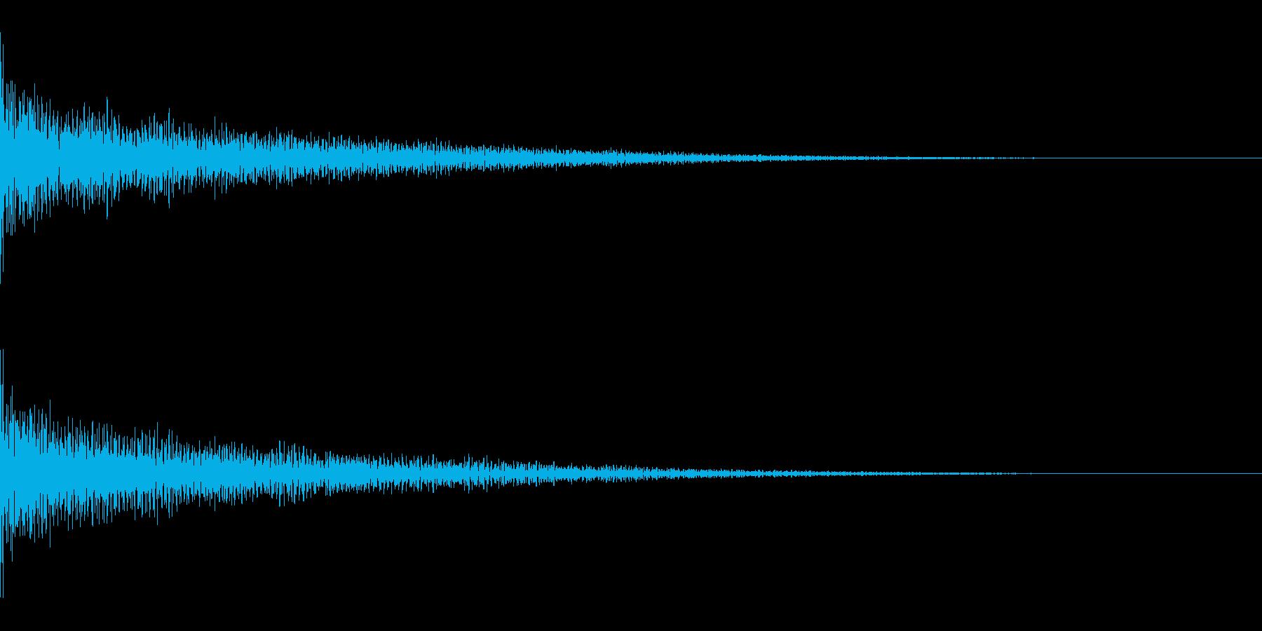 ゴーン(ショック/落ち込み/コミカル)の再生済みの波形