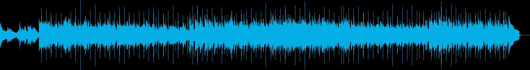 ピアノバックの曲の再生済みの波形