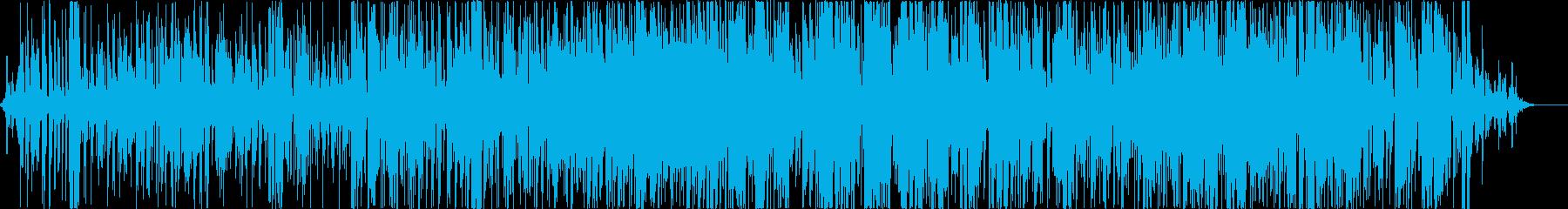 ブルースギターソロ。ライブクラブ。...の再生済みの波形