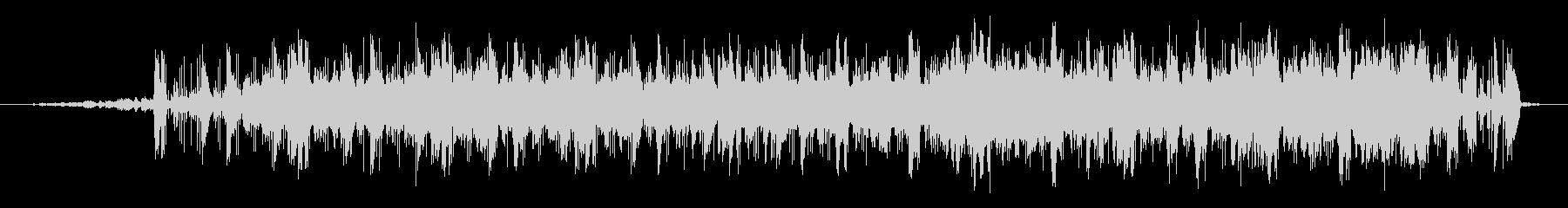 近未来的な映像に合うエレクトロニカの未再生の波形