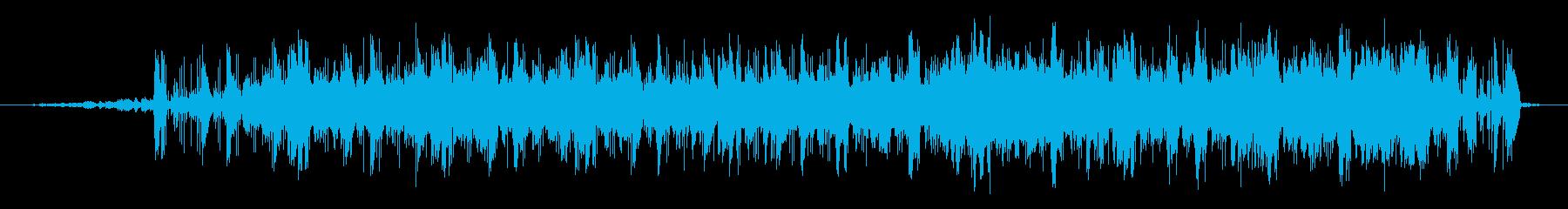 近未来的な映像に合うエレクトロニカの再生済みの波形