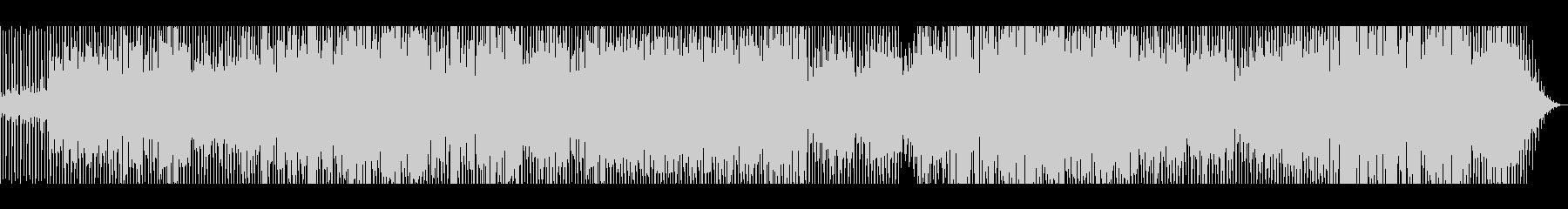 淡々と展開するダークなBGM(コーラス)の未再生の波形