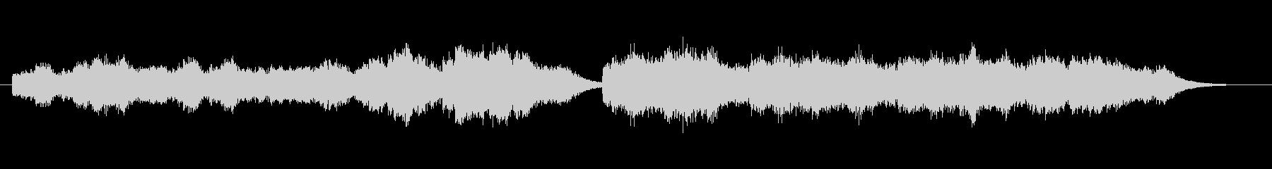 シンプルかつ奇麗な優しいBGMです。の未再生の波形
