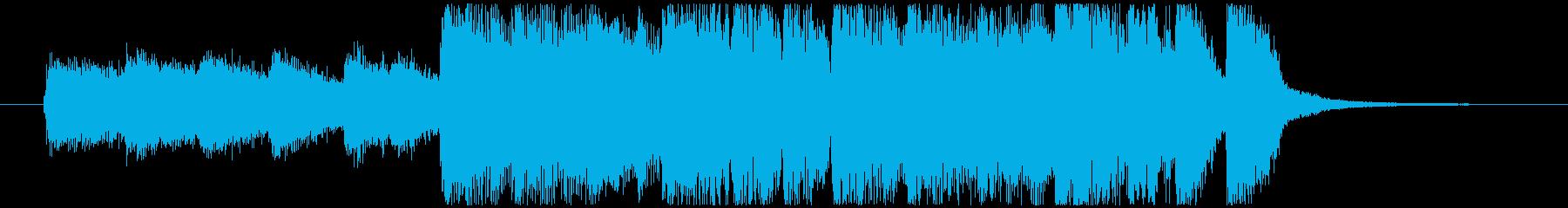 ロックスティンガー。エッジの効いた...の再生済みの波形