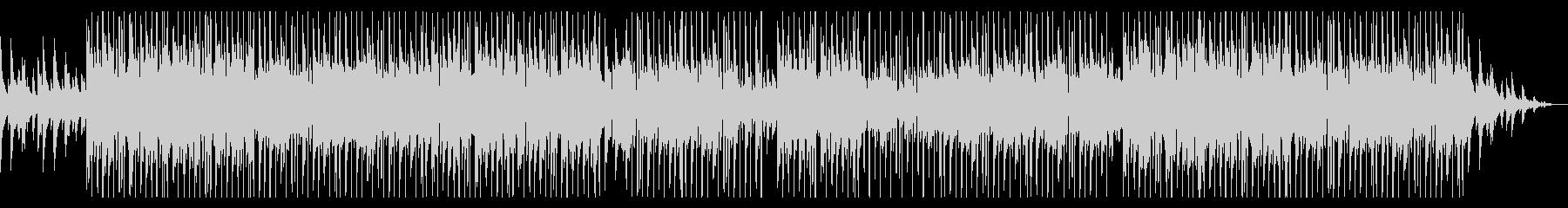 ジャジーでお洒落なピアノのHIPHOPの未再生の波形